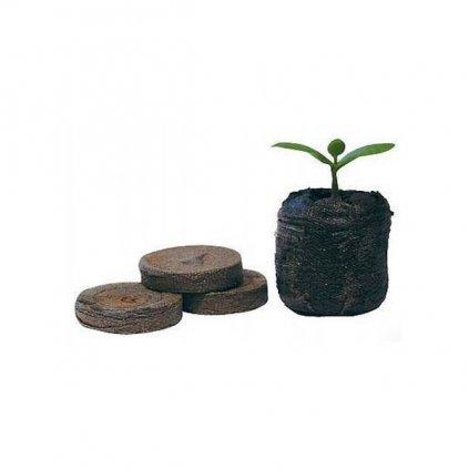 Jiffy - sadbovací tablety, rašelinové tablety, průměr 33 mm, 1 ks