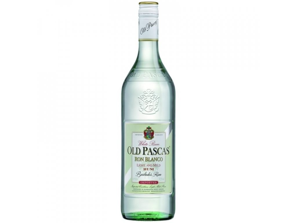 Old Pascas White Rum 1l 37,5%
