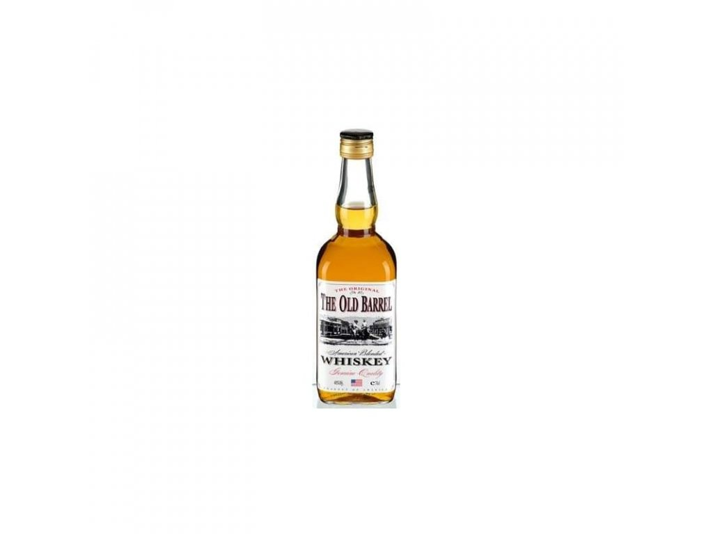 The Old Barrel Whiskey 0,7l 40%