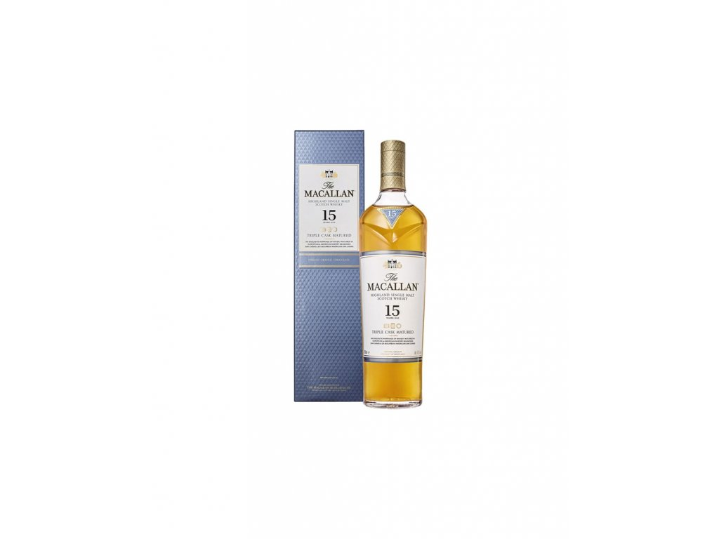 the macallan 15 anos triple cask 70 cl