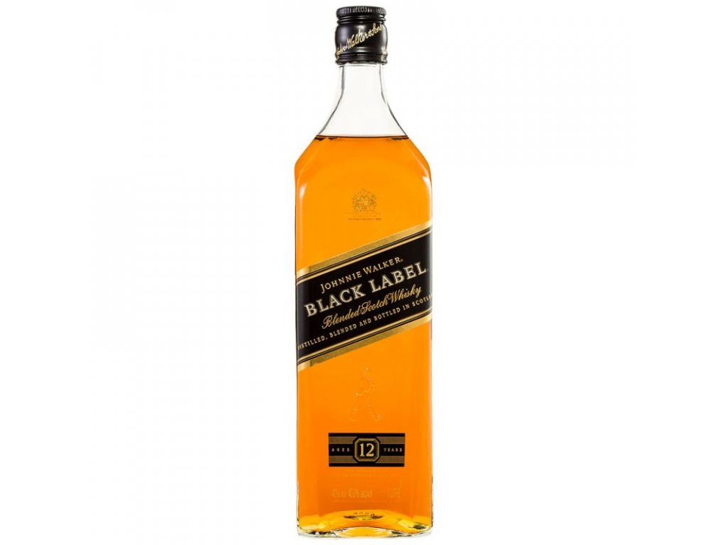 Johnnie Walker Black 12y 1l 40%
