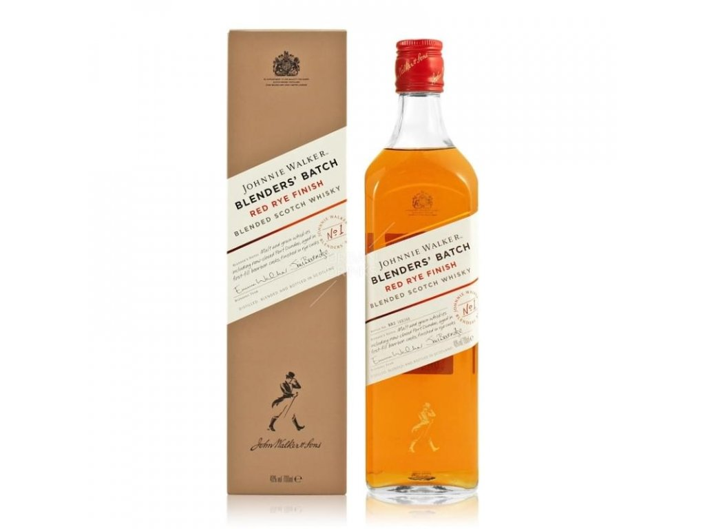 Johnnie Walker Red Rye Finish 0,7l 40%