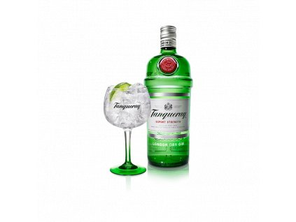 Tanqeuray Dry Gin 1l 43,1%