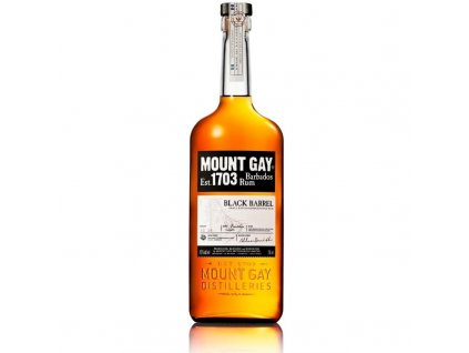 Rum Mount Gay Black Barrel 0,7l 43%