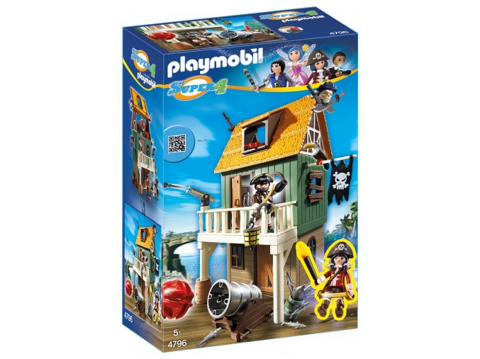 PLAYMOBIL® 4796 Maskovaná pirátská pevnost s Ruby