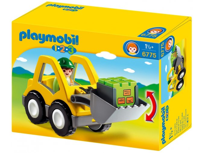 PLAYMOBIL® 6775 Čelní nakladač