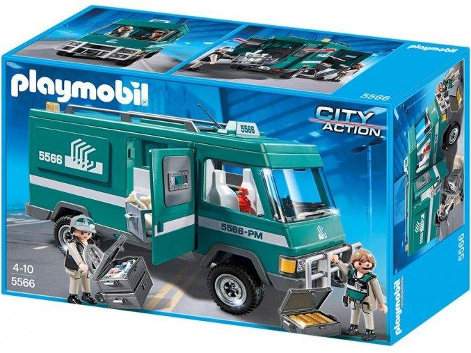 PLAYMOBIL® 5566 Transportér pro převoz peněz