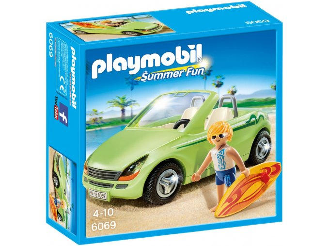 PLAYMOBIL® 6069 Roadster a surf