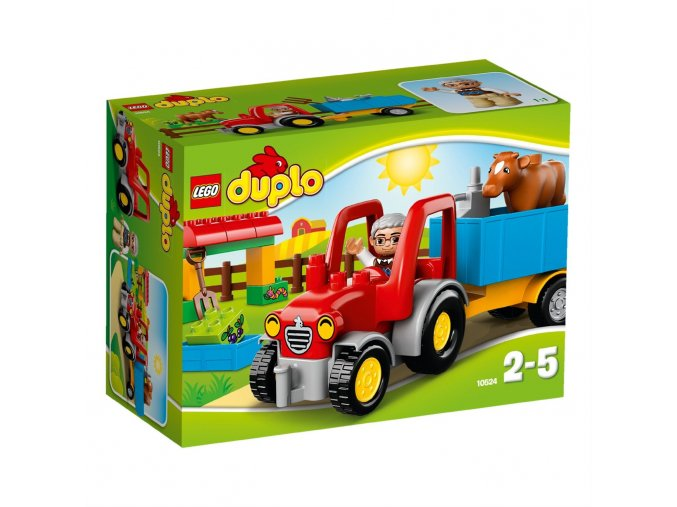 LEGO® DUPLO® 10524 Traktor  + dárek zdarma