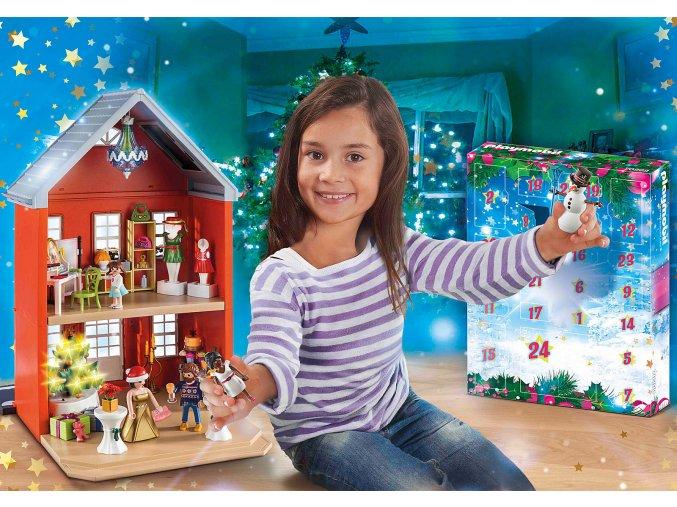 Großer Adventskalender Weihnachten im Stadthaus