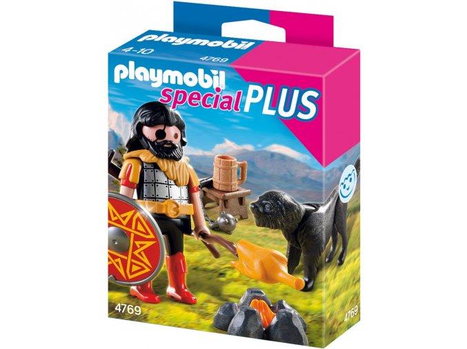 PLAYMOBIL® 4769 Barbar v tábořišti