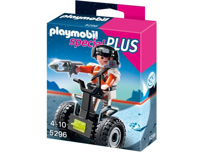 PLAYMOBIL® 5296 Top Agent a Segway