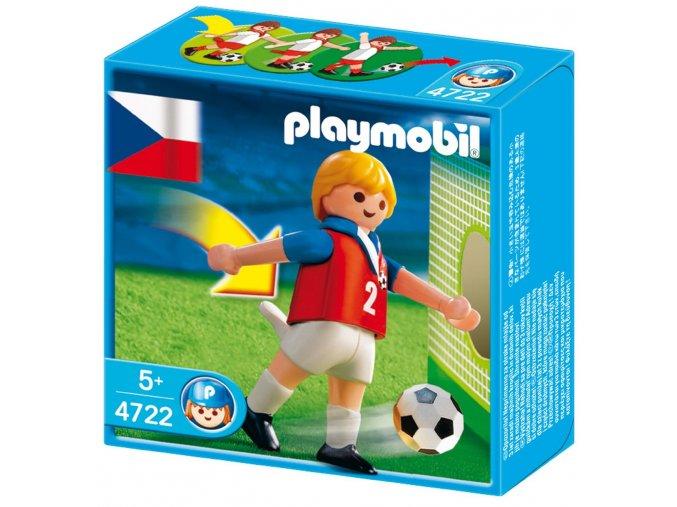 PLAYMOBIL® 4722 Fotbalista České republiky