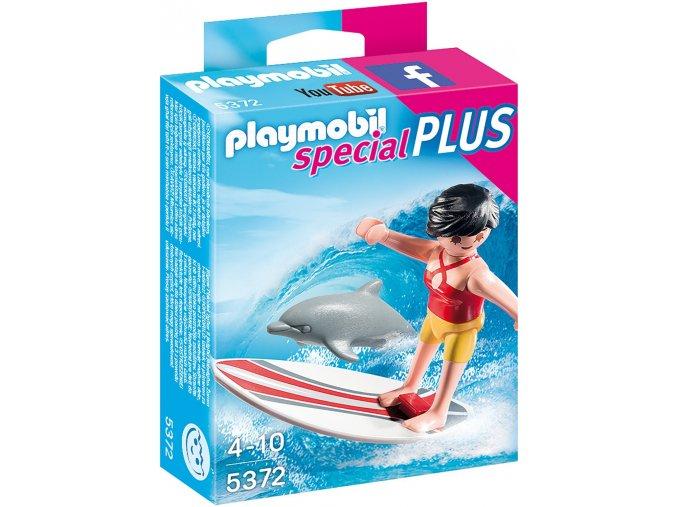 PLAYMOBIL® 5372 Surfařka s delfínem