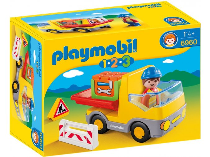 PLAYMOBIL® 6960 Sklápěcí auto  + dárek zdarma