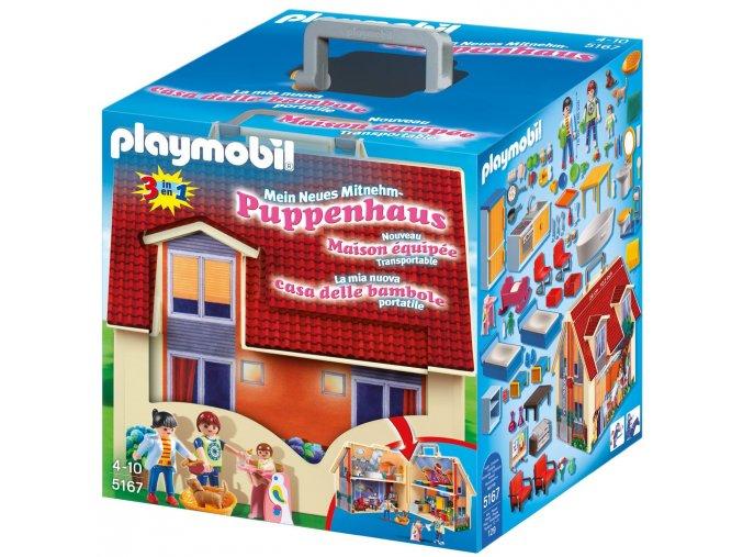 PLAYMOBIL® 5167 Přenosný dům pro panenky  + dárek zdarma