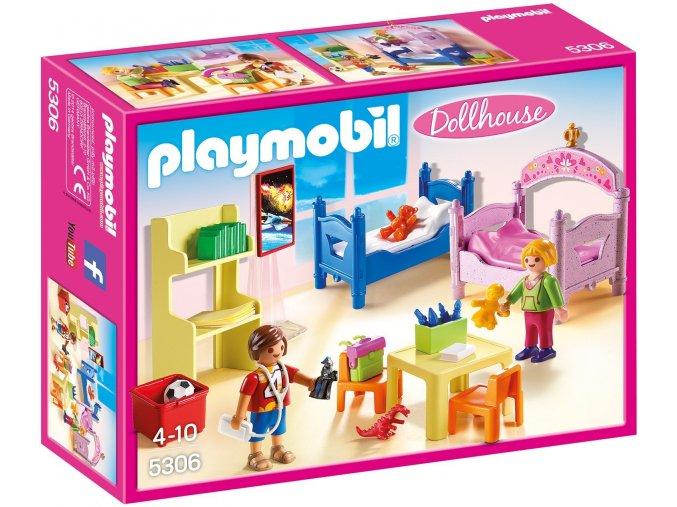 PLAYMOBIL® 5306 Barevný dětský pokoj