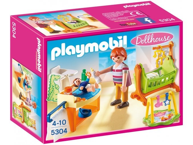PLAYMOBIL® 5304 Dětský pokoj