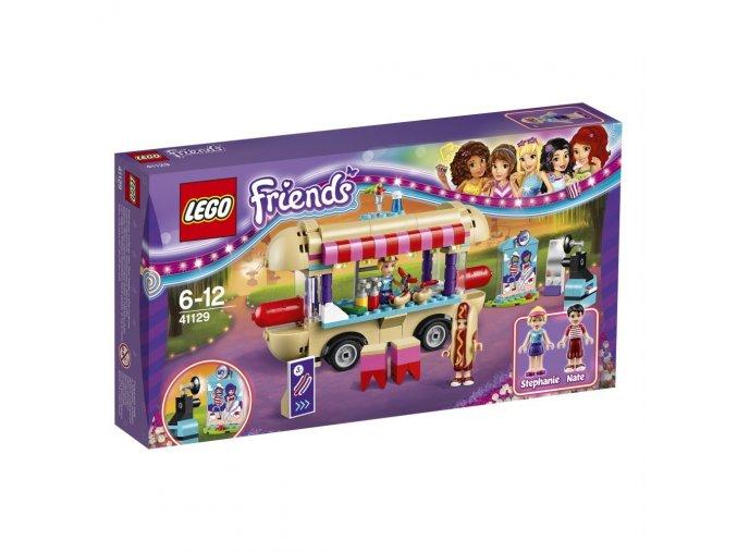 LEGO® Friends 41129 Dodávka s párky v rohlíku v zábavním parku  + dárek zdarma