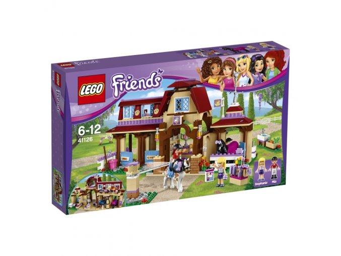 LEGO® Friends 41126 Jezdecký klub v Heartlake  + dárek zdarma