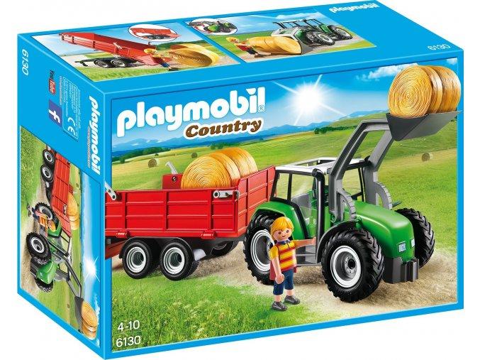 PLAYMOBIL® 6130 Traktor s přívěsem