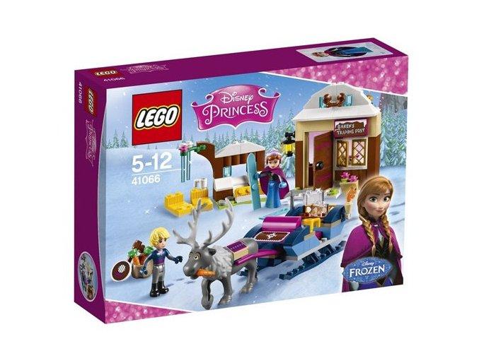 LEGO® Disney Princess 41066 Dobrodružství na saních s Annou a Křištofem  + dárek zdarma