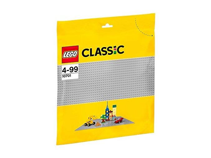 LEGO® Classic 10701 Šedá podložka na stavění  + dárek zdarma