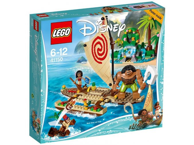 LEGO® Disney Princess 41150 Vaiana a její plavba po oceánu  + dárek zdarma