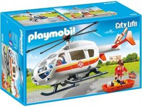 PLAYMOBIL® 6686 Záchranný vrtulník