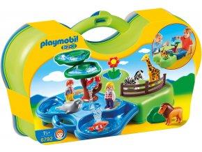 PLAYMOBIL® 6792 Přenosný vodní koutek v ZOO  + dárek zdarma