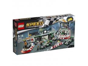 LEGO® Speed Champions 75883 MERCEDES AMG PETRONAS Formula One™ Team  + dárek zdarma