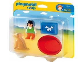 PLAYMOBIL® 6796 Holčička s pejskem