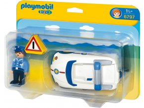 PLAYMOBIL® 6797 Policejní autíčko
