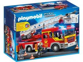 PLAYMOBIL® 5362 Hasičské auto s žebříkem