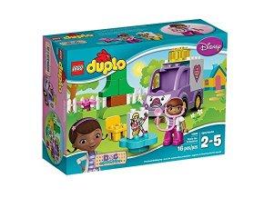LEGO® DUPLO® 10605 Doktorka Plyšáková Sanitka Rosie  + dárek zdarma