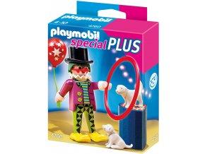 PLAYMOBIL® 4760 Klaun se psím představením