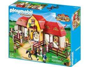 PLAYMOBIL® 5221 Velká stáj s výběhem  + dárek zdarma