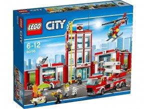 LEGO® City 60110 Hasičská stanice  + dárek zdarma