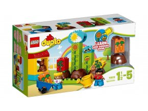 LEGO® DUPLO® 10819 Moje první zahrádka  + dárek zdarma