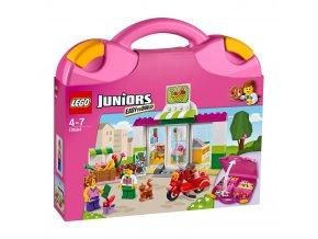 LEGO® Juniors 10684 Supermarket v kufříku  + dárek zdarma