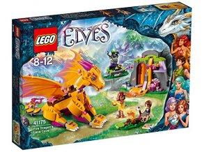 LEGO® Elves 41175 Lávová jeskyně ohnivého draka  + dárek zdarma