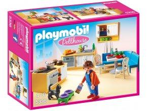 PLAYMOBIL® 5336 Kuchyně s rohovým posezením