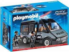 PLAYMOBIL® 6043 Policejní auto se světlem a zvukem  + dárek zdarma