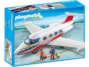 PLAYMOBIL® 6081 Prázdninové letadlo  + dárek zdarma