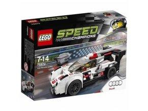 LEGO® Speed Champions 75872 Audi R18 e-tron quattro  + dárek zdarma
