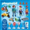PLAYMOBIL® 5571 Dopravní hřiště