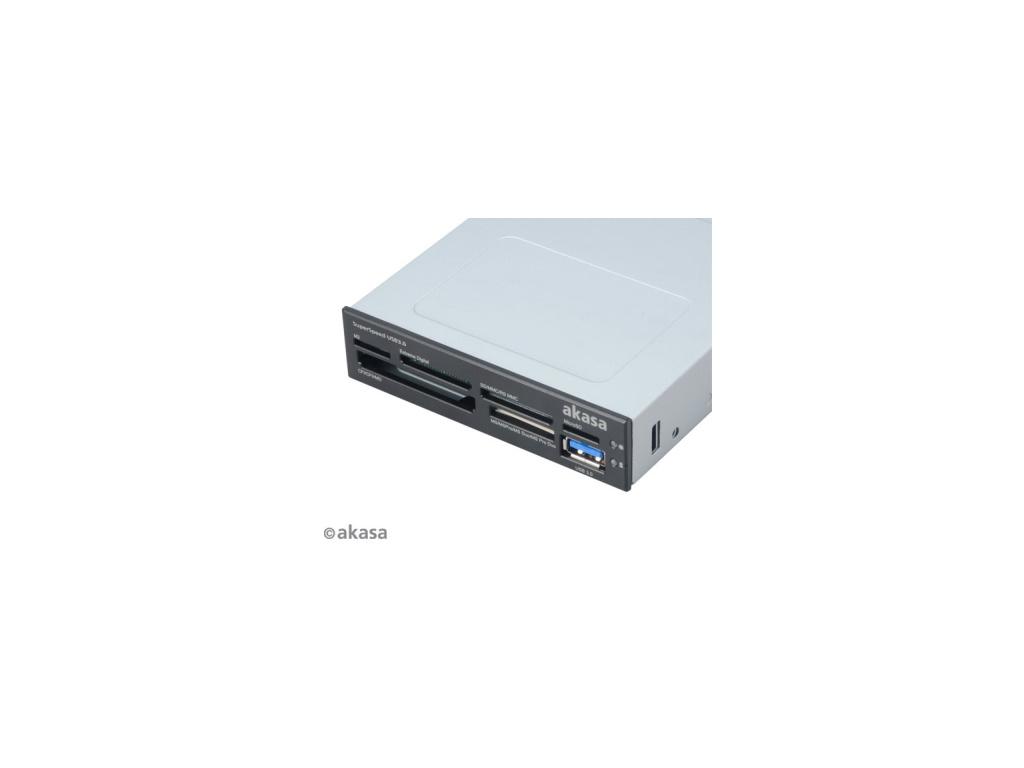 AKASA int. USB 3.0 interní čtečka karet + USB 3.0, AK-ICR-14