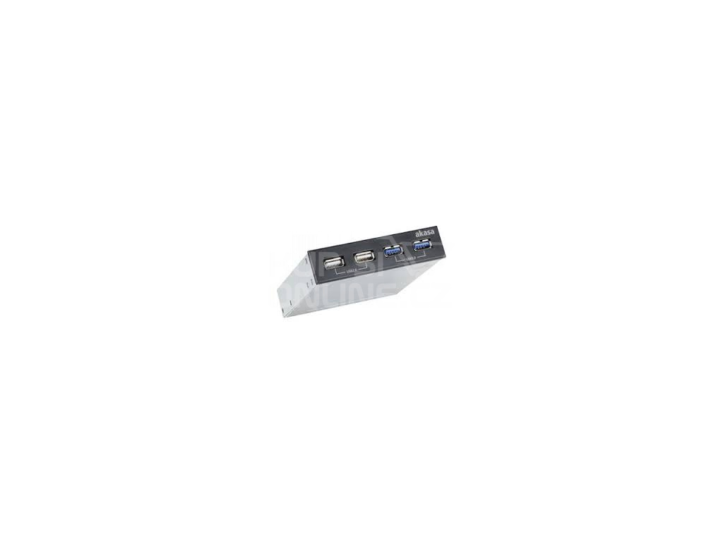 AKASA USB hub USB 2.0 + USB 3.0 - interní, AK-ICR-12V3