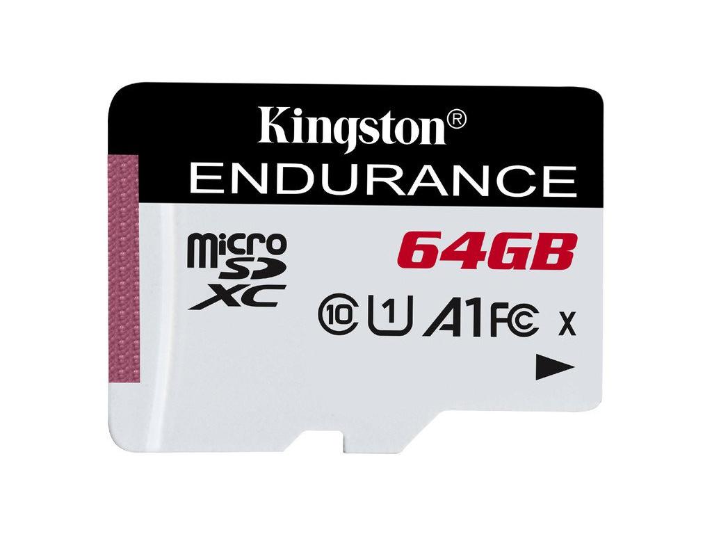 64GB microSDXC Kingston Endurance CL10 A1 95R/45W bez adapteru, SDCE/64GB