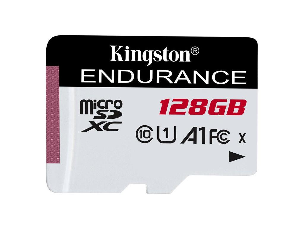 128GB microSDXC Kingston Endurance CL10 A1 95R/45W bez adapteru, SDCE/128GB